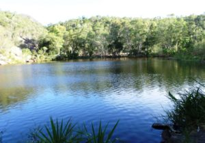 Tsimelahy natural swiming-pool