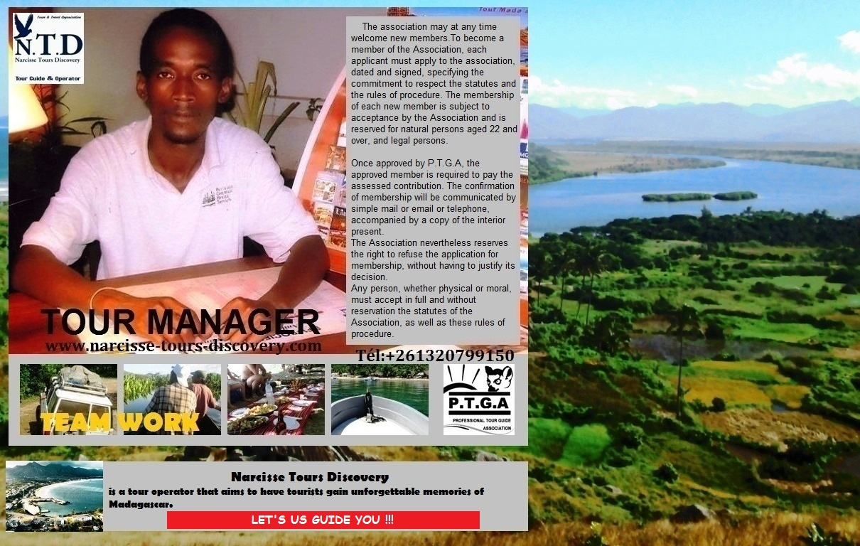 Narcisse Tour Manager