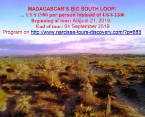 MADAGASCAR'S BIG SOUTH LOOP!