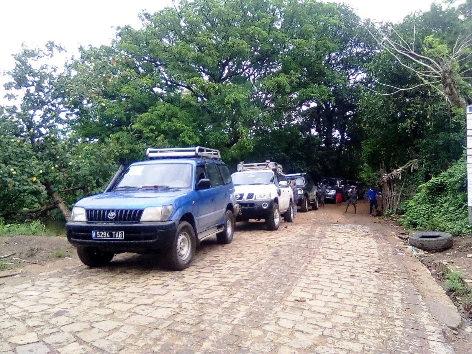 Route Tolagnaro to Tsitongambarika