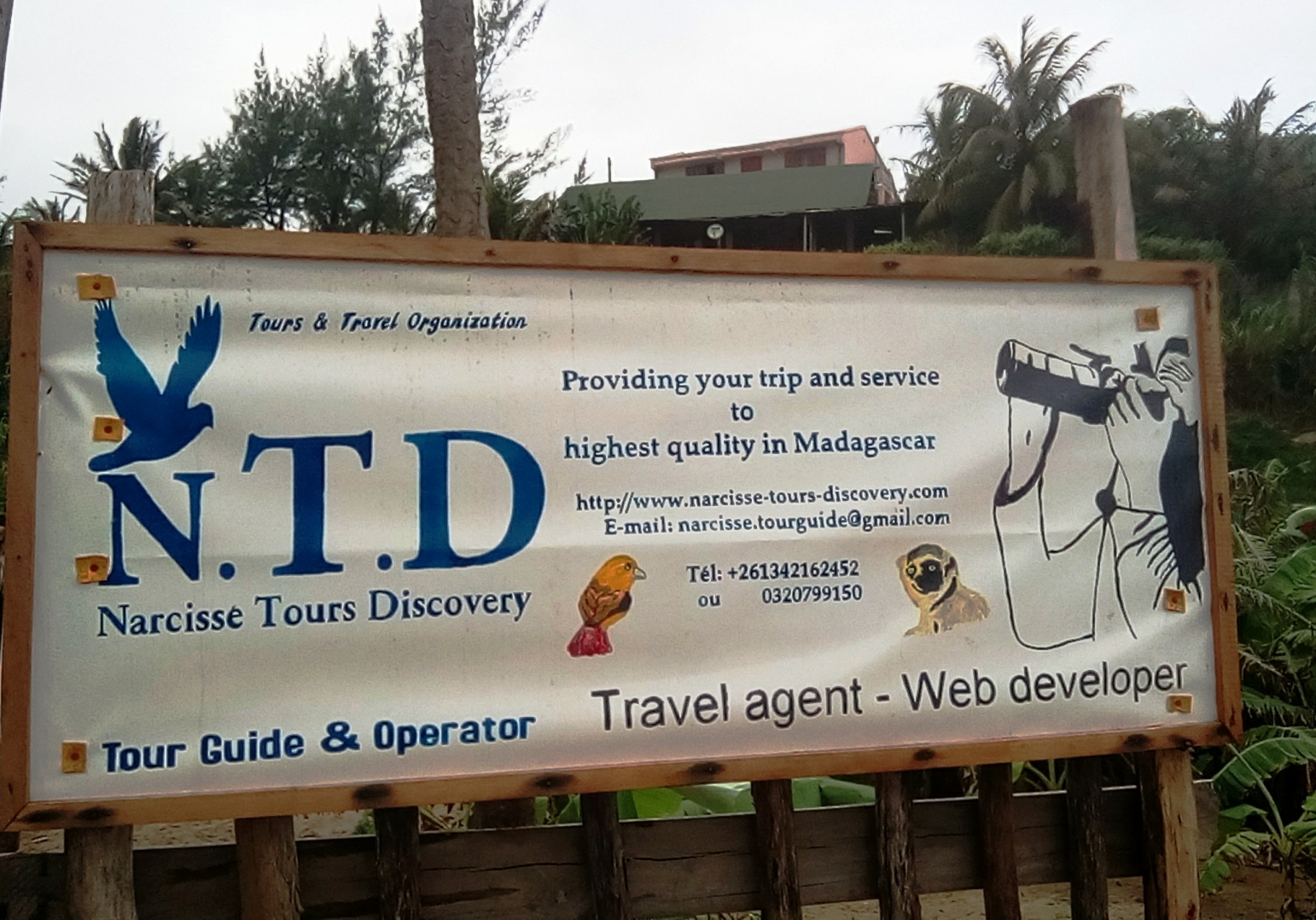 Madagascar Tour operator