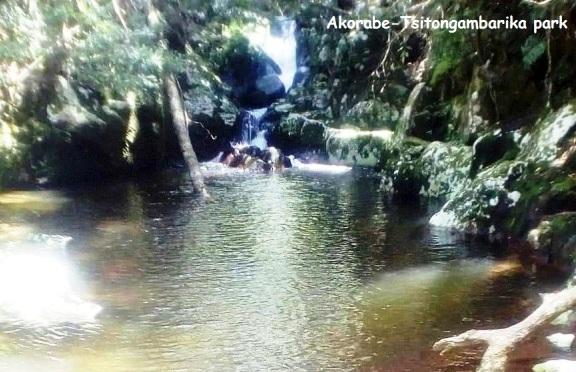 Akorabe natural swiming-pool